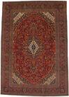 Handmade Traditional Floral Design 10X14 Vintage Oriental Wool Rug Home Carpet