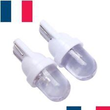 2 LED VEILLEUSES W5W T10 BLANC XENON