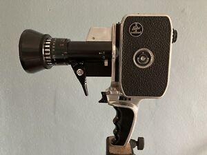 Bolex Zoom Reflex P1 8mm Cinema Camera w/ Som Berthiot Pan Cinor 8 40mm Lens