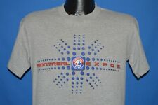 MONTREAL EXPOS GRAY CANADA HEATHERED t-shirt BASEBALL SMALL S