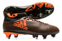 adidas X 17.3 Soft Ground Junior Sizes 2-5.5 Black RRP £45 Brand New DA9156