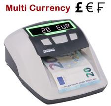 Detector billete falso Ratiotec Soldi inteligente PRO-falso Checker Nota Bank