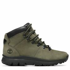 Timberland Mens World Hiker Mid Boot Winter Shoes Green