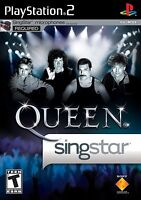 New Factory Sealed - Singstar Queen - Playstation 2 - PS2 - Bohemian Rhapsody
