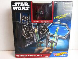 Star Wars Hot Wheels Tie Fighter Blast Out Battle