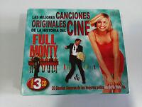 LAS MEJORES CANCIONES DE CINE SOUNDTRACK 3 X CD FULL MONTY TITANIC Nuevo