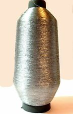 GOLD & SILVER YARNS METALLIC EMBROIDERY THREAD CONES BEST QUALITY UK SELLER