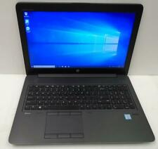 "HP zBook 15 G3 Core i7-6820HQ 2.7GHz 16Gb 512Gb 15.6"" Laptop W10Pro"