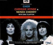 CHER CHRISSE HYNDE & NENEH CHERRY - LOVE CAN BUILD BRIDGE 1995 UK CD SINGLE