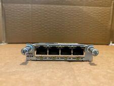 Cisco HWIC-4ESW (HWIC-4ESW=) Cisco 4-Port Fast Ethernet or 10/100 HWIC Module