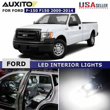 13X Car Interior LED Lights Bulb Package Kit fit for 2009-2014 Ford F-150 F150