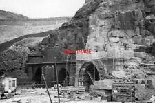 PHOTO  WOODHEAD TUNNEL DERBYSHIRE WEST PORTALS 1953 GCR SHEFFIELD ETC - MANCHEST