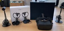 Oculus Rift VR Virtual Reality Headset + 2 Touch Controllers, Remote + 2 Sensors