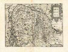 Antique Map-BRABANTIA-HOLLAND-BELGIUM-Guicciardini-1613