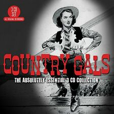 Country Gals: Absolutely Essential (2015, CD NIEUW)3 DISC SET
