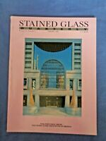 Stained Glass Magazine 1988 Louis Comfort Tiffany Lamps Bo Beskow Mark McDonnell