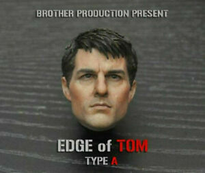 1/6 Scale Tom Cruise Head Sculpt Edge of Tomorrow For 12 inch PHICEN Figure Toy