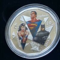 2016 Canada Batman v Superman Dawn Of Justice Trinity Wonder Woman Silver Coin