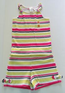 NWT GYMBOREE 2-Piece Girls Striped Outfit Cape Cod Cutie Size 5/6 Top 5 Shorts 6