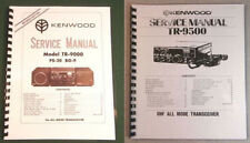 Kenwood TR-9000 and TR-9500 Service Manuals