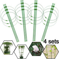 Adjustable Steel Tomato Plant Cage Plant Trainer Vege Climbing Trellis Support