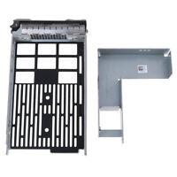 "Dell sas hybrid carrier R710 R720 R510 3.5"" tray 2.5"" adapter 9W8C4 F238F S8"