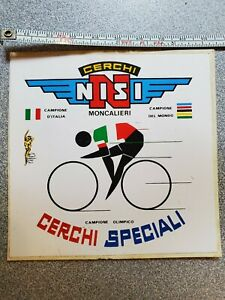 NISI Rims Sticker - 3.75 inches square -