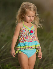 NWT Isobella and Chloe Groovy Getaway Tankini Two-Piece Swimsuit ~ Size 3T