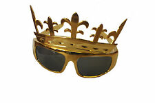 I KINGS CROWN Occhiali 1960s Rock N Roll Costume Principe Occhiali da sole