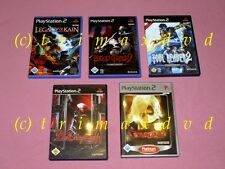 5xps2 _ Soul Reaver 2 & Blood Omen 2 & LEGACY OF KAIN DEFIANCE & Devil May Cry 1+2