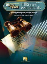EZ svolgere oggi volume 7 riscontri dal MUSICALS PIANOFORTE corde principianti facile LIBRO MUSICA