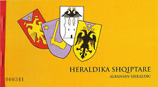 ALBANIA  2006 - Albanian Heraldic - Booklet  MNH VERY RARE