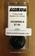 Railmaster Hobbies DS28RND-8 28mm Round HQ Speaker 8 Ohm       MODELRRSUPPLY-com
