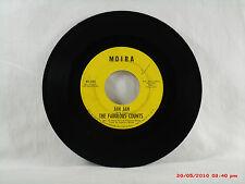 THE FABULOUS COUNTS -(45)- JAN JAN  /  GIRL FROM KENYA  -- MOIRA RECORDS  - 1968