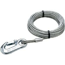 5/32 Inch x 25 Ft Boat Trailer Winch Cable - 2,800 lbs Tensile Strength