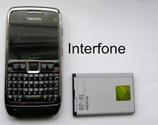 Nokia E71 Mobile Phone-EE/T Mobile/Virgin-Good Cond-Optional Charger Bundle