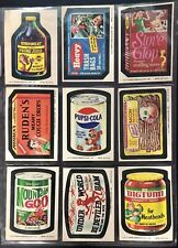 1974 Topps Wacky Packages 10th Series Complete Set VEEY NICE With PUPSI + Puzzle