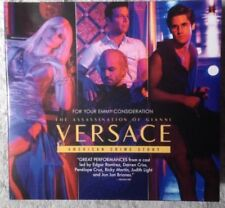 The Assassination of Gianni Versace 2018 Fox TV 2 Episodes FYC EMMY AWARD DVD