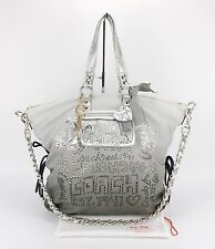 COACH 15312 POPPY STORYPATCH SPOTLIGHT Rhinestone XL OMBRE Convertible Purse Bag