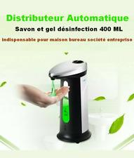 Distributeur automatique de savon et gel désinfection 400ML