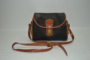 Dooney & Bourke Vintage All Weather Leather Flap Shoulder Bag