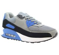 Mens Casual Running Fitness Gym Boys Shock Absorbing Sports Trainers Shoes Size