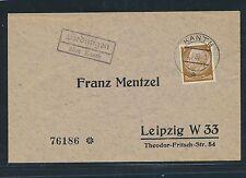 00329) Landpost Ra2 Siedungen über Kanth, DS 1938