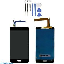 GLS DISPLAY LCD+TOUCH SCREEN +ATTREZZI PER LENOVO VIBE P1 P1C72 VETRO NERO NUOVO
