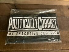 Jihad Scudder Politically Correct The Executive Decision T-Shirt Black Large NEW