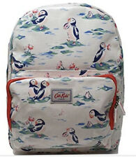 Cath Kidston Kids Rucksack Backpack Oilcloth Button Spot Mid Pink Size35x28x10cm