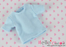 ☆╮Cool Cat╭☆133.【NS-45】Blythe Pullip Short Sleeve T-Shirt # Baby Blue