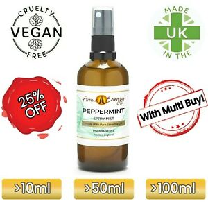 Peppermint Essential Oil Room Spray Fragrance Spritz Mist Freshener