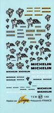 Decalbogen Michelin alt mit Bibendum 1:43 (047)