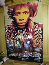 Jimi Hendrix Poster Experience It All Psychedelic Face Shot
